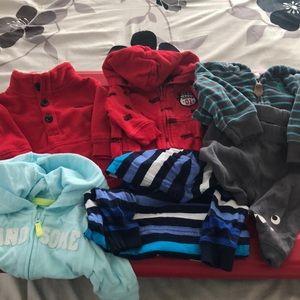 Carters baby boy jackets